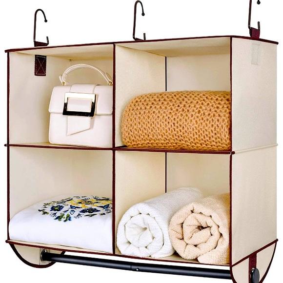 Hanging closet storage